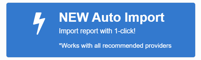 New Auto Import button